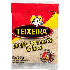Queijo Parmesão Ralado Teixeira Tradicional 50g