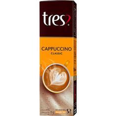 Cápsulas de Café Cappuccino 3 Corações 10X11g