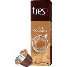 Cápsulas de Café com Leite 3 Corações 10X9g