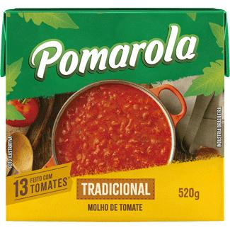 Molho Tomate Peneirado Pomarola 520g