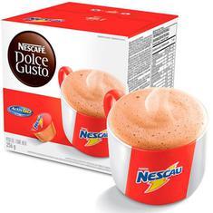Cápsulas de Café Nescau Nescafé Dolce Gusto 256g