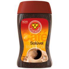 Café Solúvel 3 Corações 100g