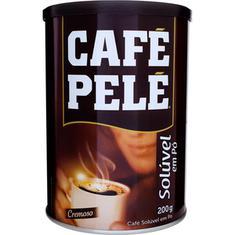 Café Solúvel Pelé Lata 200g