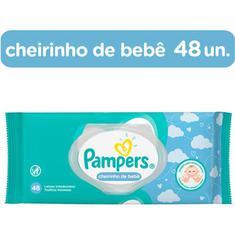 Lenço Umedecido Cheirinho de Bebê Pampers 48un