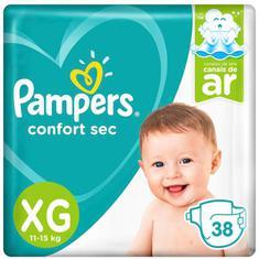 Fralda Confort Sec Pampers XG 38un
