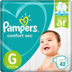 Fralda Pampers Confort Sec G 42 Unidades