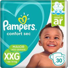 Fralda Confort Sec Pampers XXG 30un