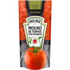 Molho de Tomate com Azeitona Heinz Sachê 340g
