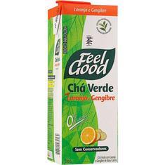 Chá Verde com Laranja e Gengibre Feel Good 1L