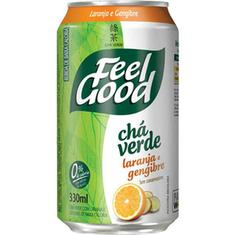 Chá Verde com Laranja e Gengibre Feel Good 300ml