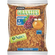 Granola Granatus Passas e Mel 250g