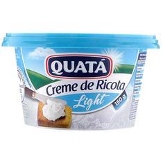 Creme de Ricota Light Quata 150g