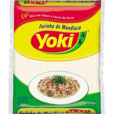 Farinha de Mandioca Crua Yoki 500g