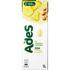 Bebida de Soja Sabor Abacaxi Ades 1L