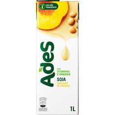 Bebida de Soja Sabor Pêssego Ades 1L