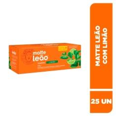 Chá Mate com Limão Leão 40g