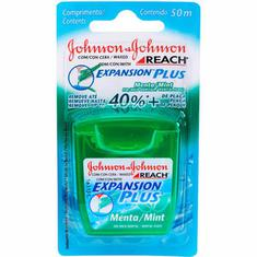 Fio Dental Johnson & Johnson Menta 50m