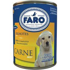 Alimento para Cães Faro Filhotes Carne 280g