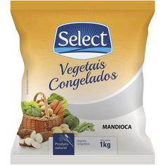 Mandioca Pedaço Congelada Select 1kg