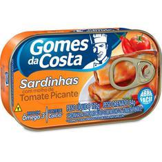 Sardinha Tomate Picante Gomes Costa 125g