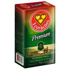 Café Vácuo Premium 3 Corações 500g