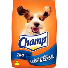 Ração para Cães sabor Carne e Cereal Champ 1kg