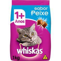 Ração para Gatos sabor Peixe Whiskas 1kg