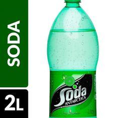 Refrigerante Sabor Limão Soda Antarctica 2L