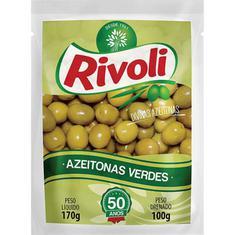 Azeitona Verde com Caroço Rivoli 100g