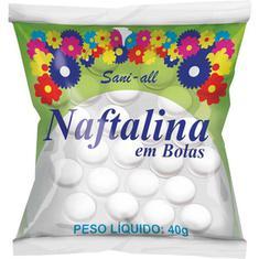 Bolas de Naftalina Sani-All 40g