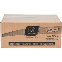 Hambúrguer Carne de Ave e Carne Bovina Montana 36x56g