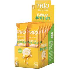 Cereal Barra Trio Banana Aveia Mel 12X24g