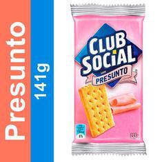 Biscoito Salgado Sabor Presunto Club Social 141g