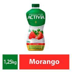 Leite Fermentado Activia Morango 1250g