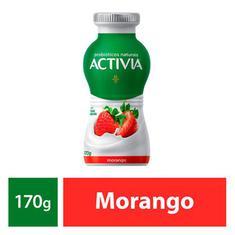 Leite Fermentado Activia Morango 170g