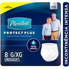 Fralda Geriátrica Plenitud Act Plus G/XG 8 un.