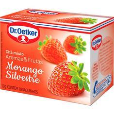 Chá de Morango Silvestre Dr. Oetker 10g
