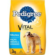 Ração para Cães Junior Pedigree 3kg