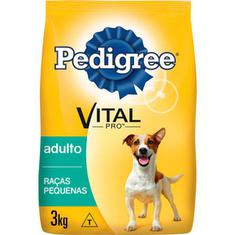 Ração para Cães Raças Pequenas Pedigree 3kg