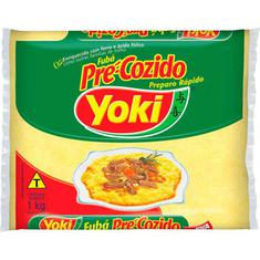 Fubá Pré Cozido Yoki 1kg