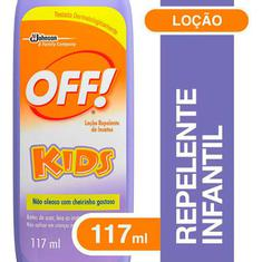 Repelente Loção Off Kids 117ml