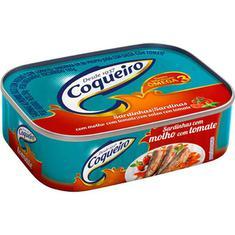 Sardinha Tomate Temperado Media Coqueiro 250g