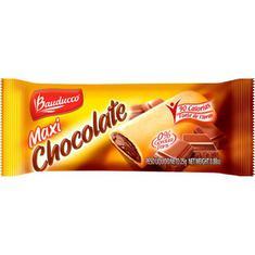 Biscoito Recheado Sabor Chocolate Maxi Bauducco 25g