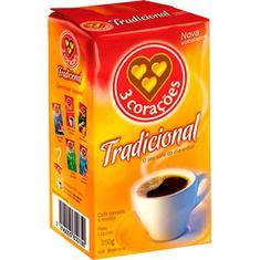 Café a Vácuo Tradicional 3 Corações 250g