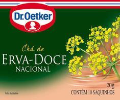 Chá de Erva Doce Dr. Oetker 10g