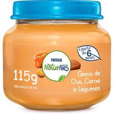 Papinha Sabor Gema de Ovo Carne e Legumes Nestlé 115g