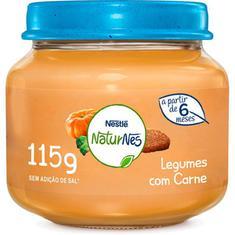 Papinha Sabor Carne e Legumes Nestlé 115g
