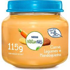 Papinha Sabor Carne Legumes e Mandioquinha Nestlé 115g