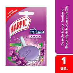 Harpic Bloco Higiênico Lavanda 26g