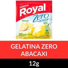Gelatina Pó Zero Royal Abacaxi 12g